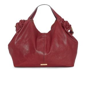 NEW Vince Camuto Lysa Leather Hobo Bag